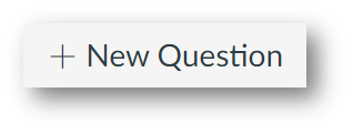 Button that says +New Question