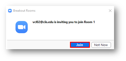 The join button as it will appear for participants
