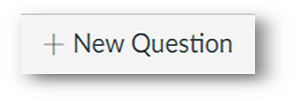 the + new question button