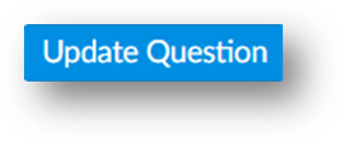 The update question button